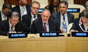 Paul Polman, CEO of Unilever Global