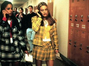 Still from Clueless, classic 'teen' movie based on Jane Austen's 'adult' novel Emma