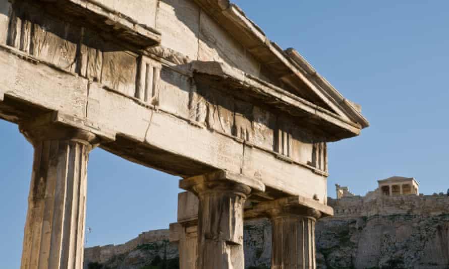 The Roman agora, Athens