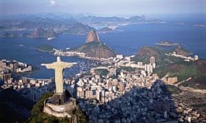 Christ the Redeemer by Paul Landowski in Rio de Janeiro, Brazil