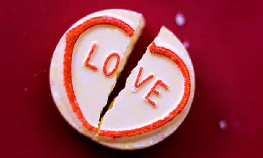 Broken heart candy