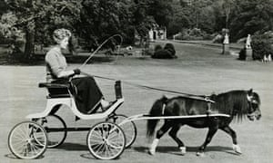 The Dowager Duchess of Devonshire at Chatsworth.