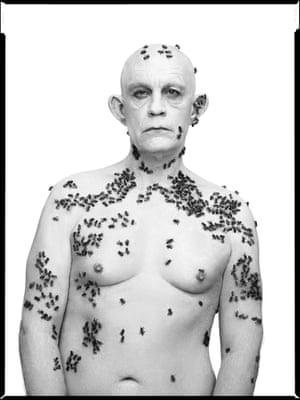 Richard Avedon / Ronald Fischer, Beekeeper, Davis, California, May 9, (1981), 2014