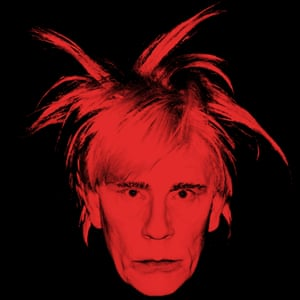 Andy Warhol / Self Portrait with Fright Wig (1986), 2014