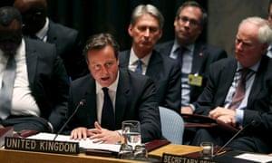 British PM David Cameron.