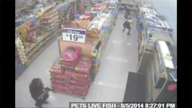 Ohio Walmart video reveals moments before officer killed