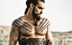 Jason Momoa in Games of Thrones.