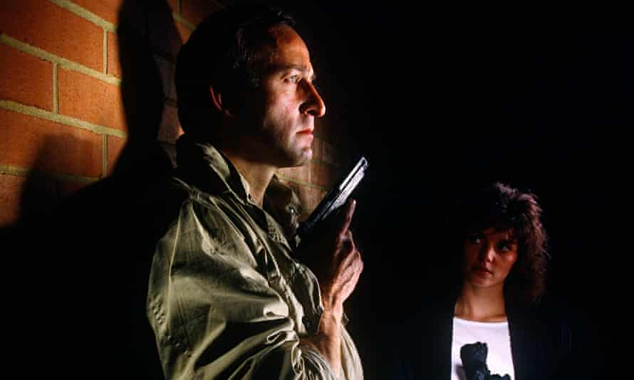 Bob Peck and Joanne Whalley in Edge of Darkness. Photograph: Alamy