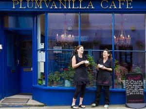 Plum Vanilla cafe, Narberth