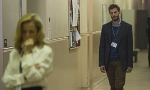 Serial killer Paul Spector in the BBC series The Fall, played by Jamie Dornan