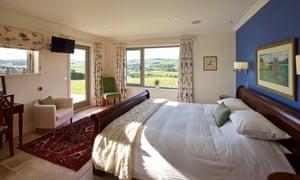 Bedroom at Three Glens