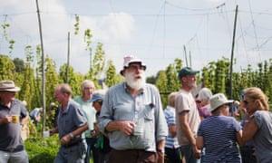 Bob Dockerty of Larkins Brewery