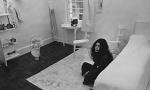 Yoko Ono's Half-a-Room, part of her Half-a-Memory exhibition at the Lisson Gallery, London, 12 October 1967.