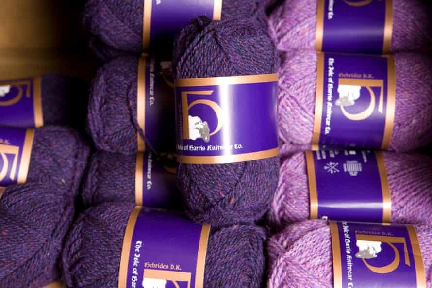 The Isle Of Harris Knitwear Company shop at Grosebay, Isle of Harris, The Outer Hebrides, Scotland, UK.