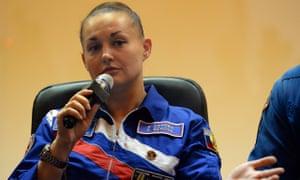 Russia's cosmonaut Yelena Serova