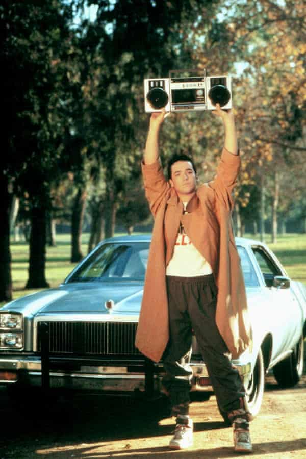Cusack's breakthrough role in Say Anything.