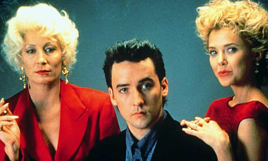 Anjelica Houston, John Cusack and Annette Benning in The Grifters.