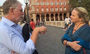 Conversing in Rome