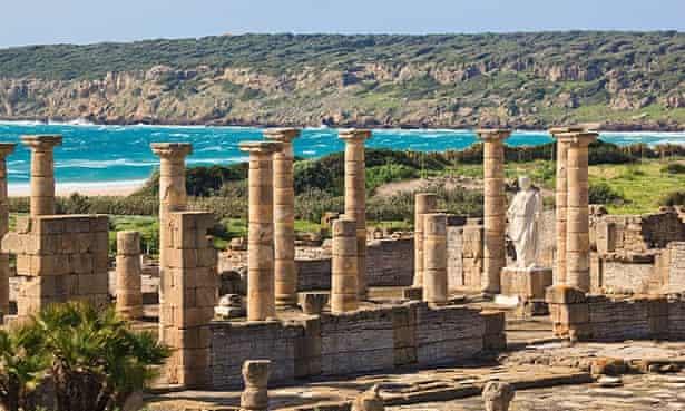 Roman ruins of Baelo Claudia, Bolonia, Cadiz