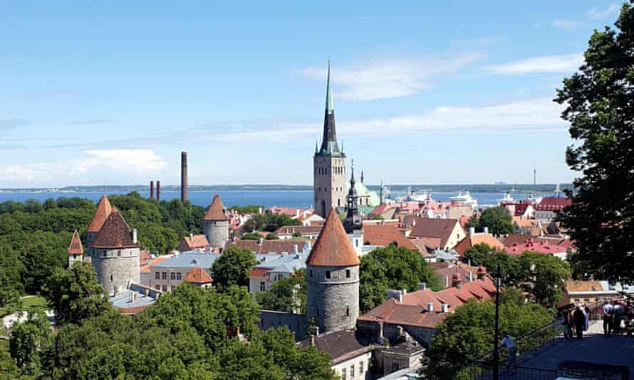 Town view of Tallin