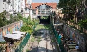The Petite Ceinture abandoned railway in Paris