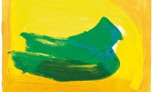 Howard Hodgkin, Green Thought, 2014,