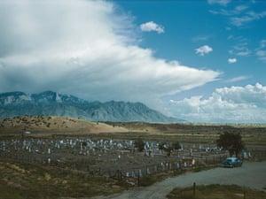Inge Morath, Indian cemetery near Albuquerque, New Mexico, 1960