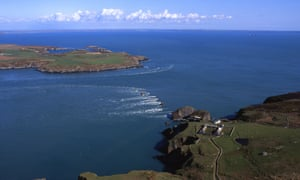 View of Ramsey Sound, Pembrokeshire, Wales