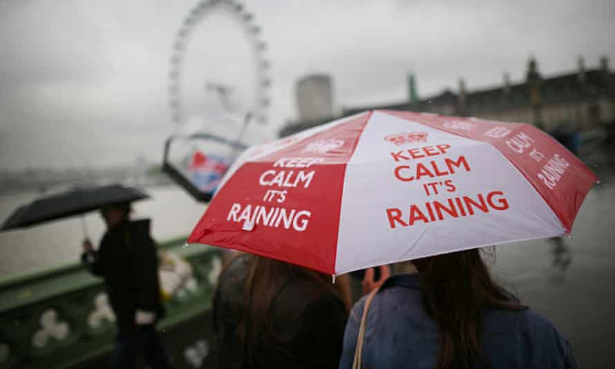 No Evidence Of Summer Emerging As Downpours Continue Across The UK