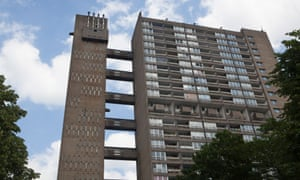 Pop-up party … The Balfron Tower is hosting a season of arts events before work begins on converting it into private flats.
