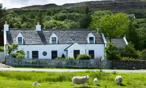 The Three Chimneys restaurant on Skye. Chef Michael Smith says: 'Maybe we have got more Michelin sta