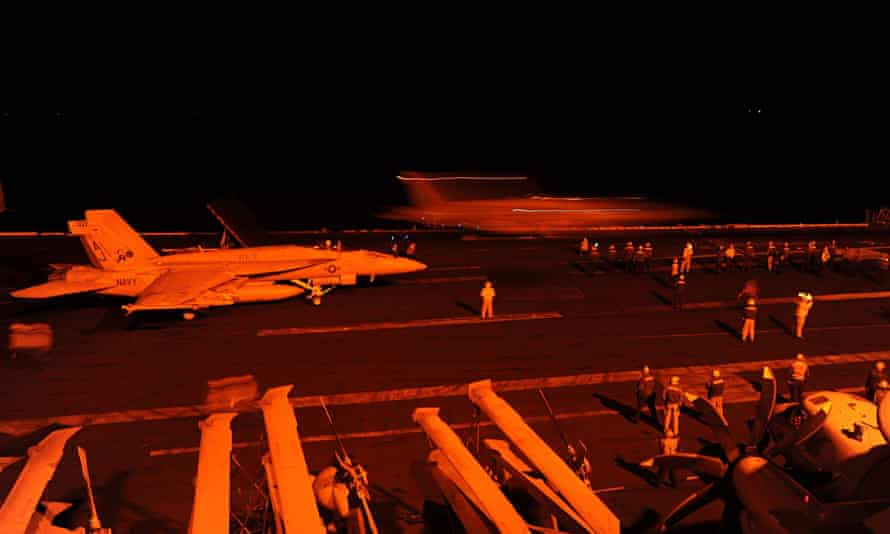 US led air strikes in Syria against Islamic State - Sep 2014