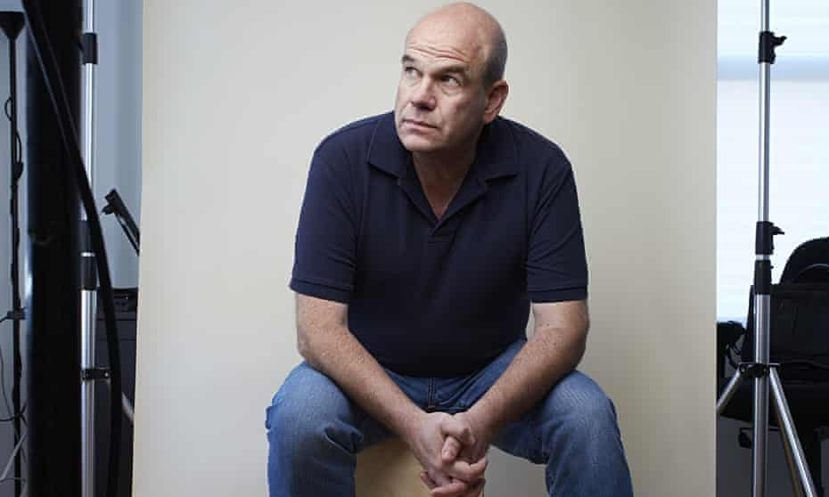 David Simon photographed in New York before filming of his new series Show Me a Hero.
