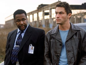 Wendell Pierce and Dominic West in David Simon's HBO series The Wire.