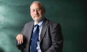 Nobel prize-winning economist Joseph Stiglitz, who has written extensively on the recent failures of the US capitalist system.