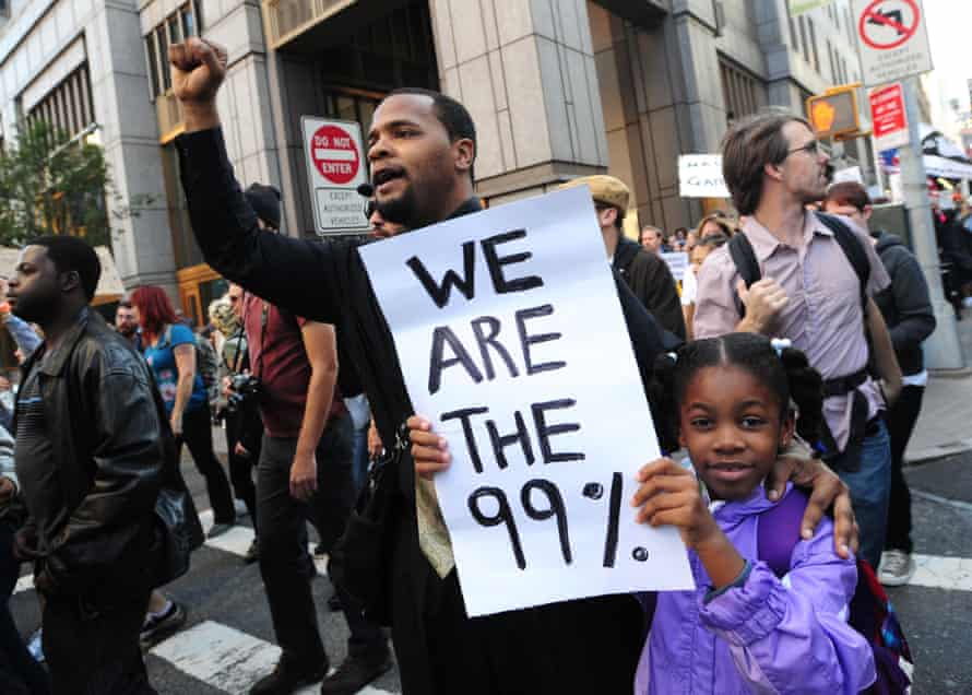 US Money 99% occupy wall street