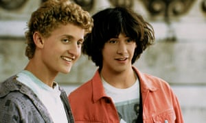 Two become many … Bill and Ted in the first film