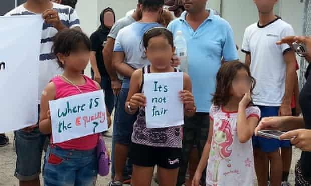 nauru asylum seeker protest