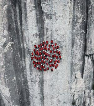 Mammut test event for backpacks. Location: Osogna, Tessin, Switzerland