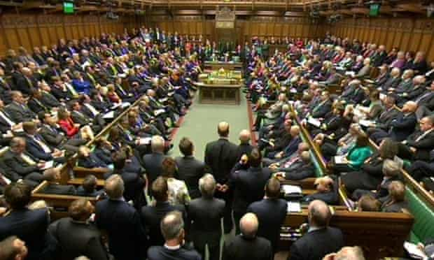 A packed House of Commons debates supporting military actions against Isis.