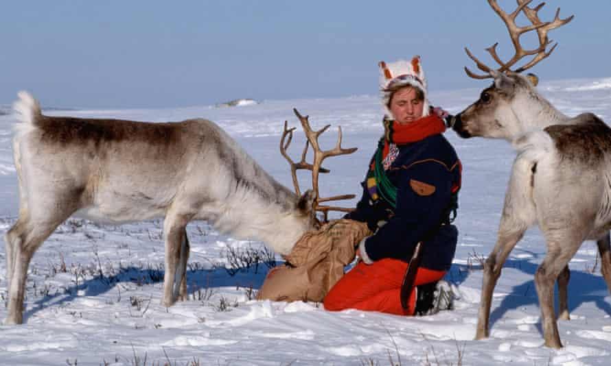 Saamis Daily Life in Karasjok, Norway