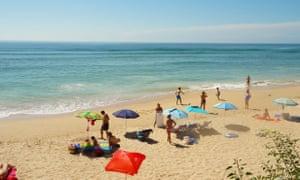 View from Sajorami beach bar, Cadiz