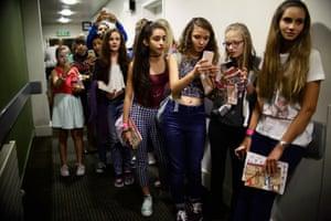 Alfie Deyes fans queue up to meet him at his book signing.