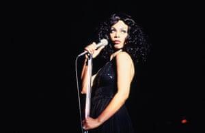 Donna Summer performing in Atlanta, March 1978.