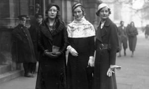 The Mitford sisters - Unity, Diana and Nancy