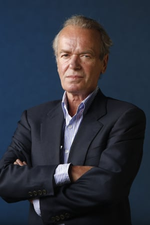 The novelist Martin Amis