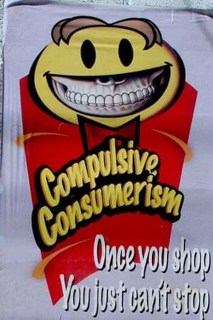 Anti-consumerism street art