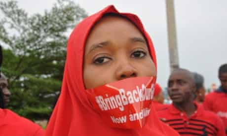 A demonstration in Abuja this week called on Nigeria's government to do more to rescue hundreds of girls kidnapped by Boko Haram.