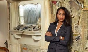 "SCANDAL - ABC's ""Scandal"" stars Kerry Washington as Olivia Pope. (ABC/Craig Sjodin)."