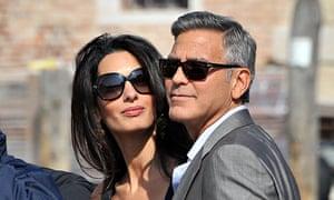 """George Clooney and Amal Alamuddin"""